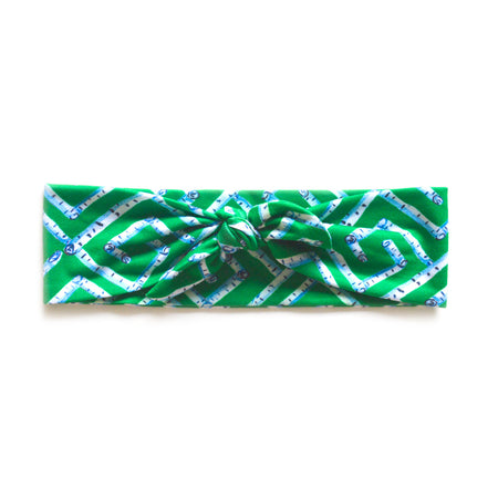 Emerald Fancy Birch Key Headband