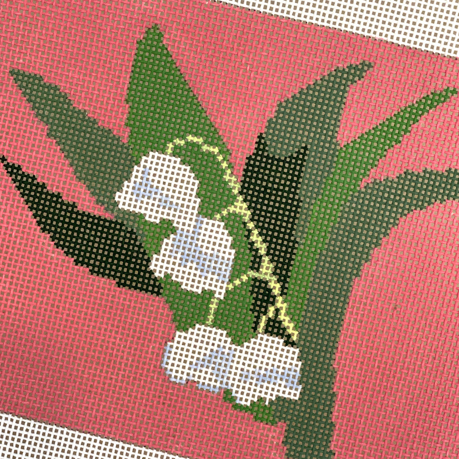 Lily Ornament Needlepoint Canvas