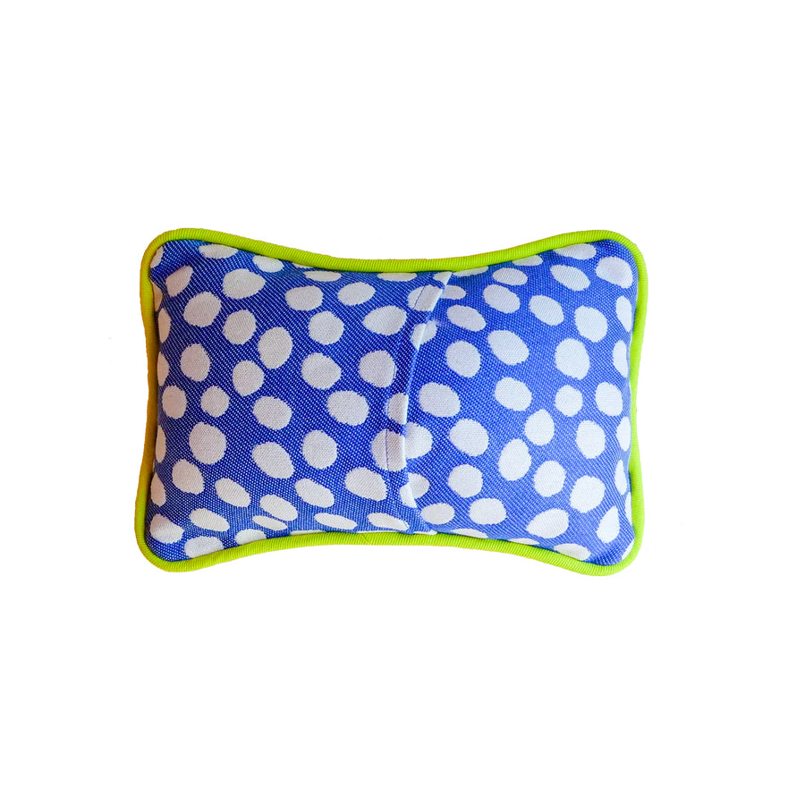 Punch Lily of the Valley Mini Velvet Boutique Pillow