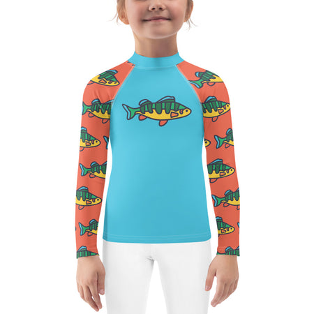 Grapefruit Perch Kids Sun Shirt