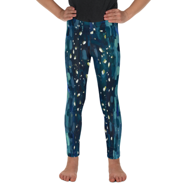Meteor Shower Kids Leggings