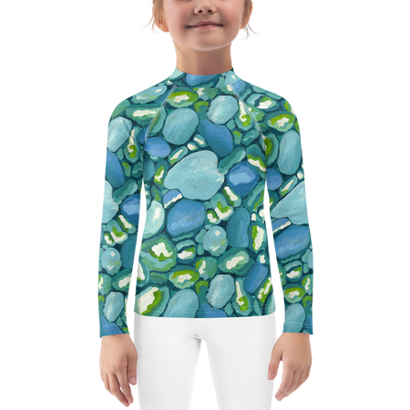Leland Blue Kids Sun Shirt