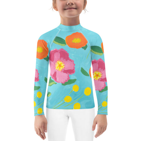 Katherine's Blooms Kids Sun Shirt