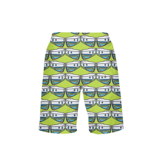 Citron NOPO Tug Boy's Swim Trunks