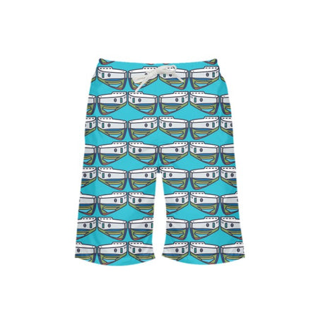 Waterfall NOPO Tug Boy's Swim Trunks