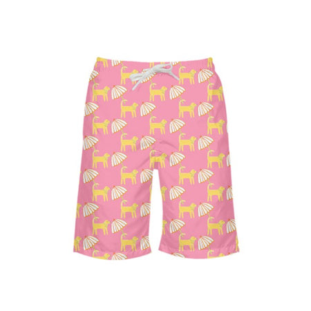 Sunset Dog Day Afternoon Boy's Swim Trunks