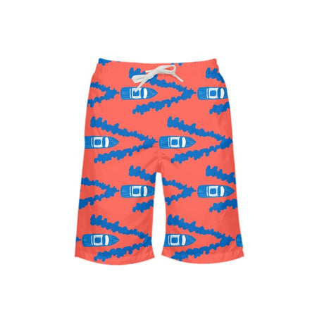 Punch Full Throttle Boy's Swim Trunks