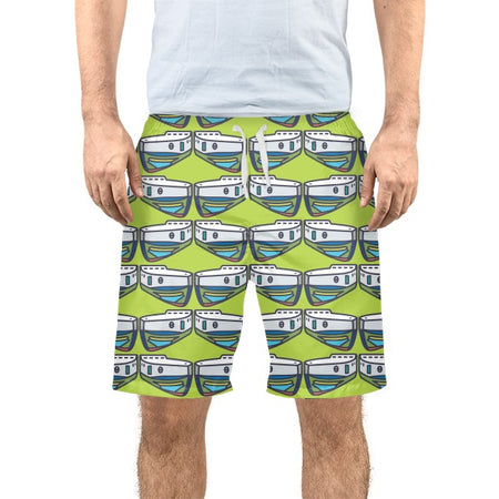 Citron NOPO Tug Men's Swim Trunks