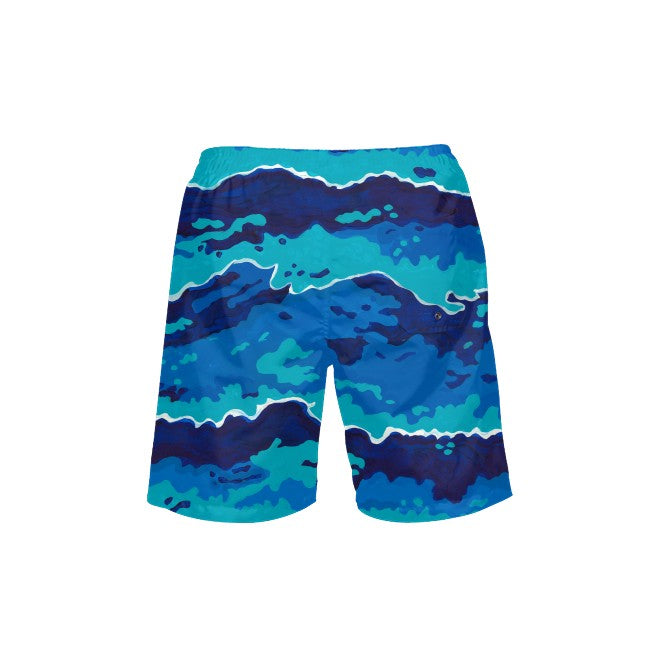 Surf's Up Men's Swim Trunks