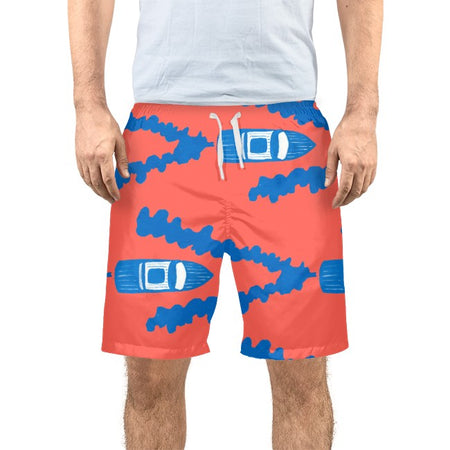 Punch Full Throttle Men's Swim Trunks