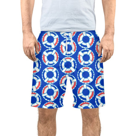 Sapphire Lifesaver Men's Swim Trunks