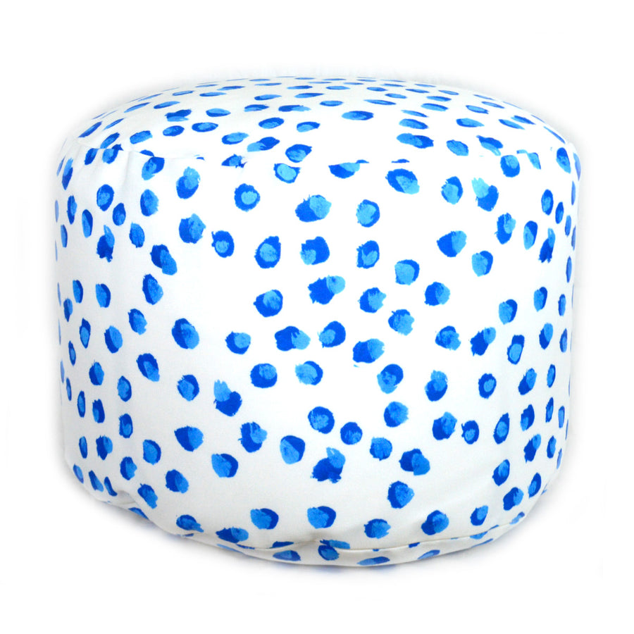 Blueberries Overboard Ottoman