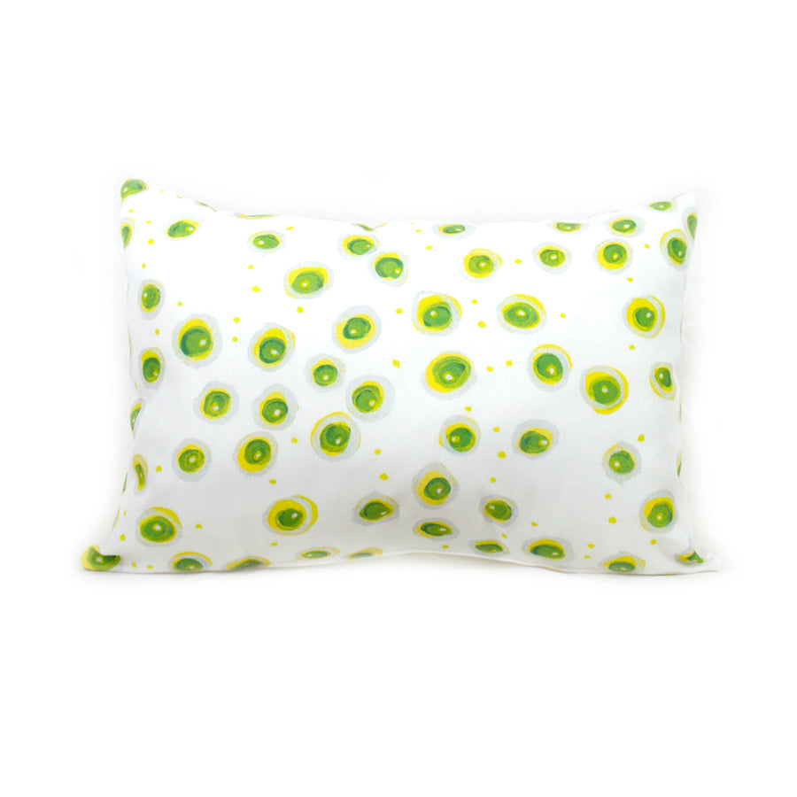 Lightning Bugs Outdoor Lumbar Pillow