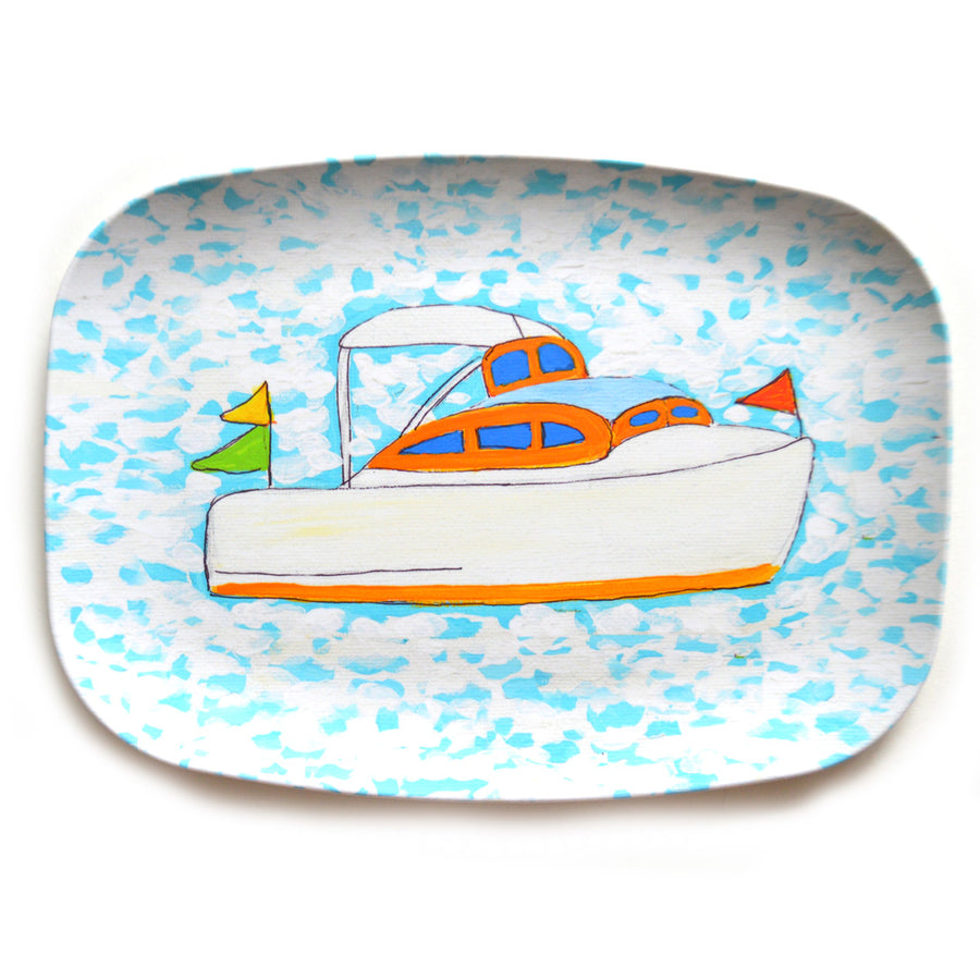 Cocktail Cruising Melamine Platter