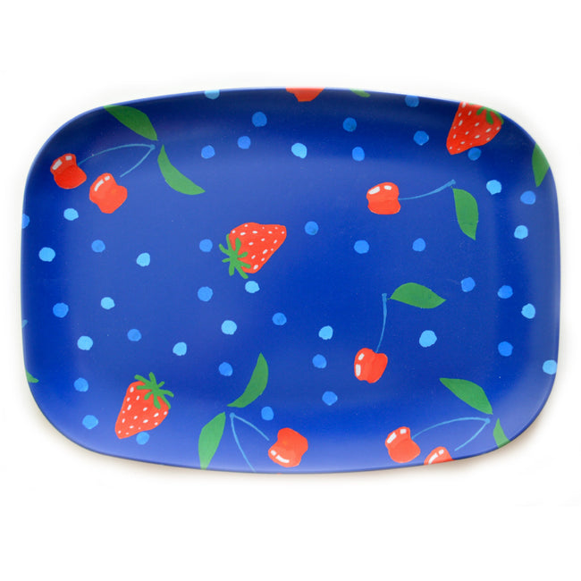 Sapphire Berries and Cherries Melamine Platter