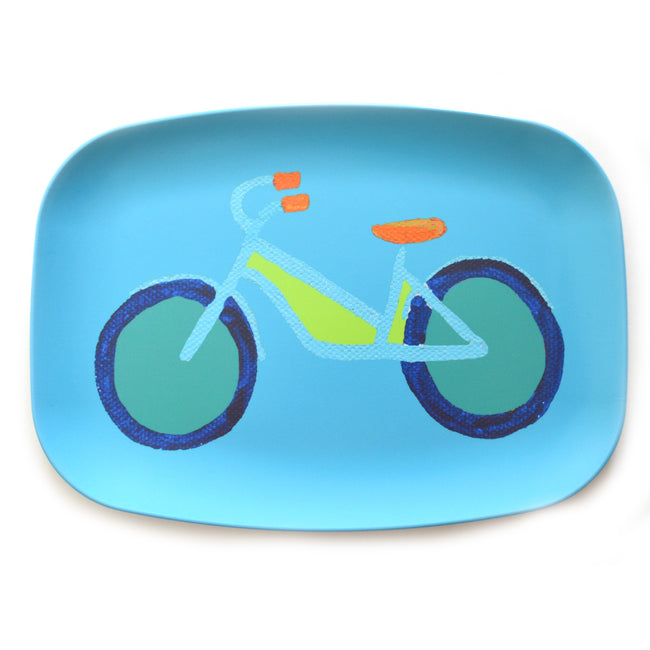 Single Surf Summer Bike Melamine Platter