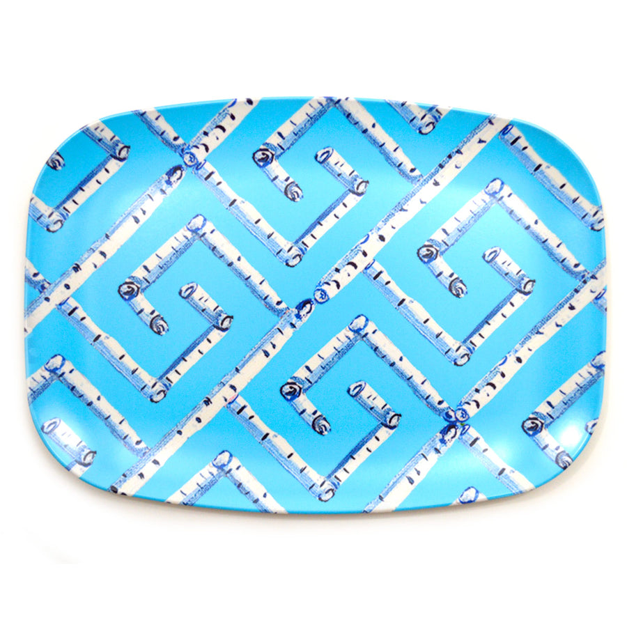 Surf Fancy Birch Key Melamine Platter