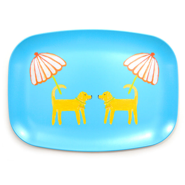 Surf Dog Day Afternoon Melamine Platter