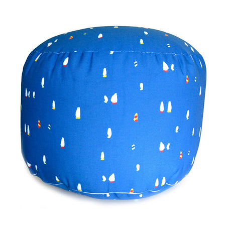 Navy Chicago Mac Overboard Ottoman
