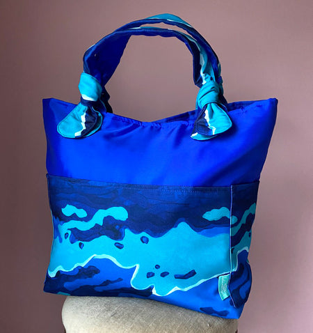 Royal/Surfs Up Outside Bag