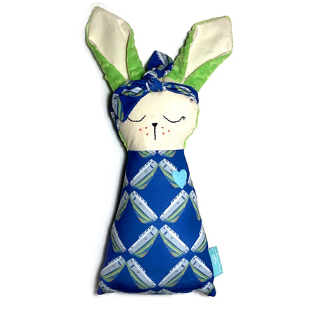 Navy Tug Rabbit Rabbit Lovey