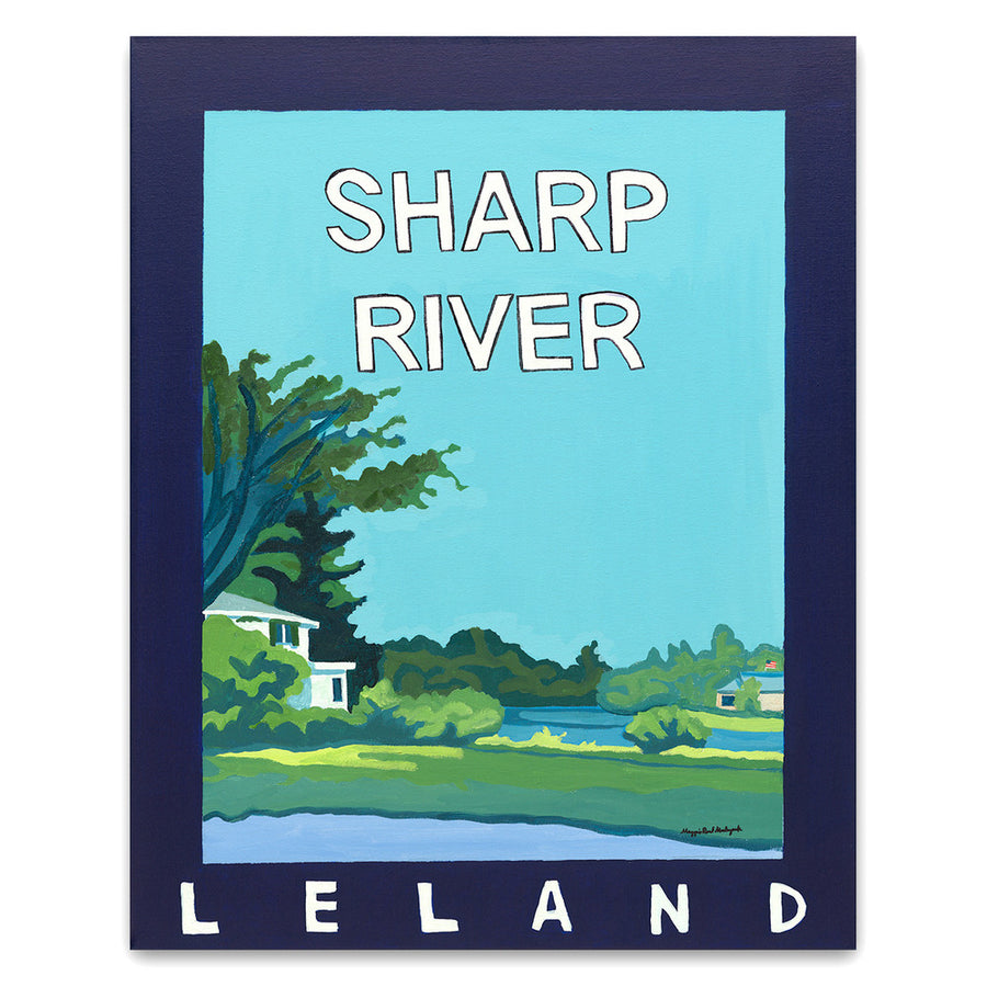 Sharp RIver Giclée