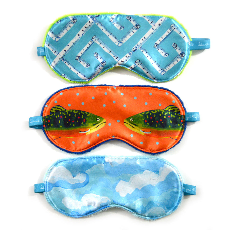 Grapefruit Brook Trout Sleep Mask
