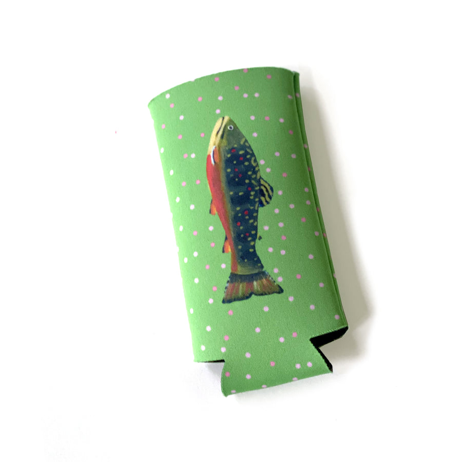 Leaf Trout Tall Coozie