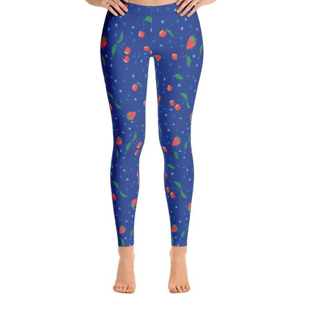 Junior Berries and Cherries Leggings