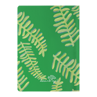 Emerald Floating Fronds Journal