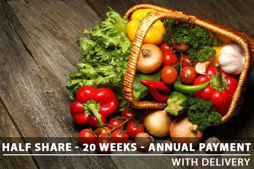 Half Share - 20 Weeks - Annual with Delivery