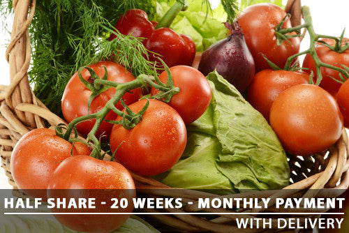 Half Share - 20 Weeks - Monthly payments with Delivery