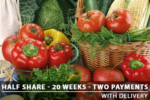 Half Share - 20 Weeks - Two payments with Delivery