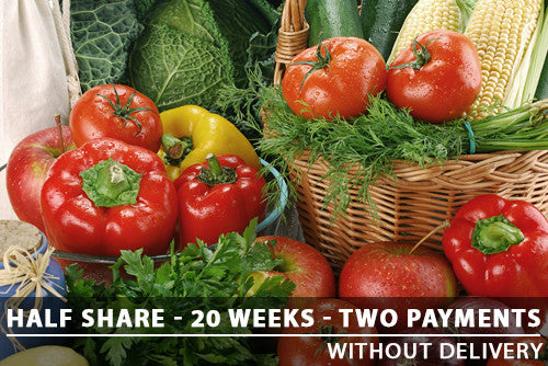 Half Share - 20 Weeks - Two payments with Pickup