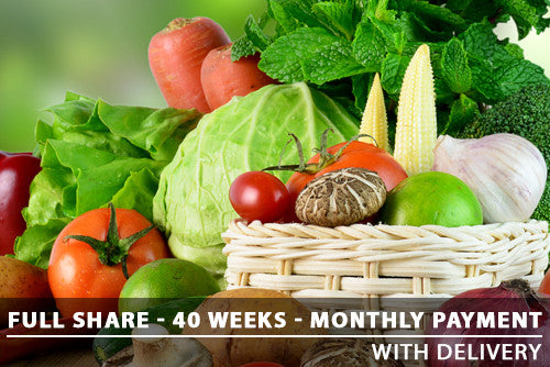Full Share - 40 Weeks - Monthly with Delivery