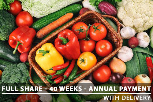 Full Share - 40 Weeks - Annual Payment With Delivery