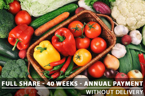 Full Share - 40 Weeks - Annual Payment With Pickup