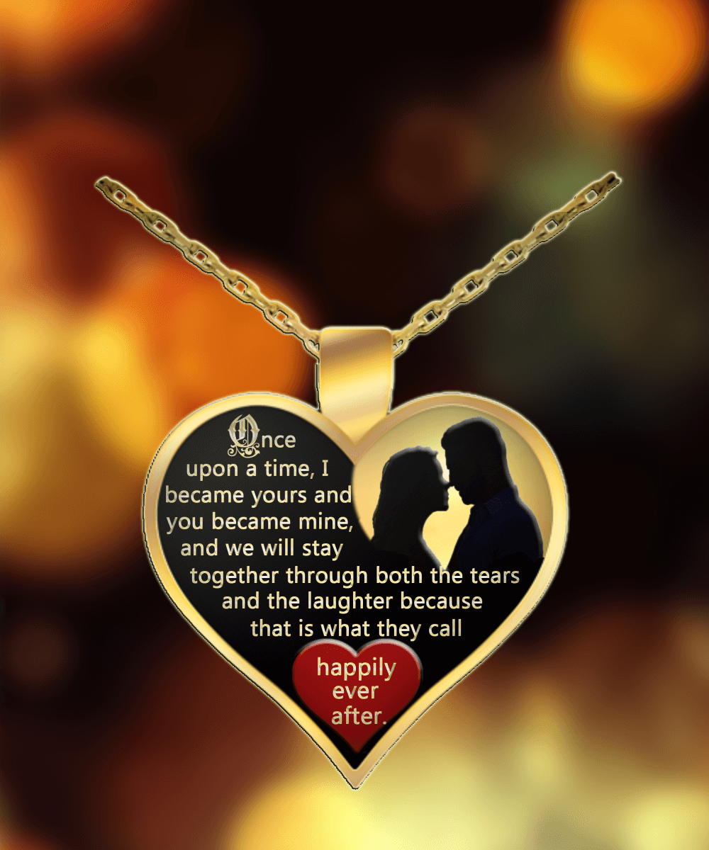 and necklace wife i heart ebay itm you love for gold to gift pendant s husband