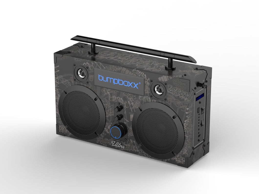 Bumpboxx Ultra - BBG Black Grafitti