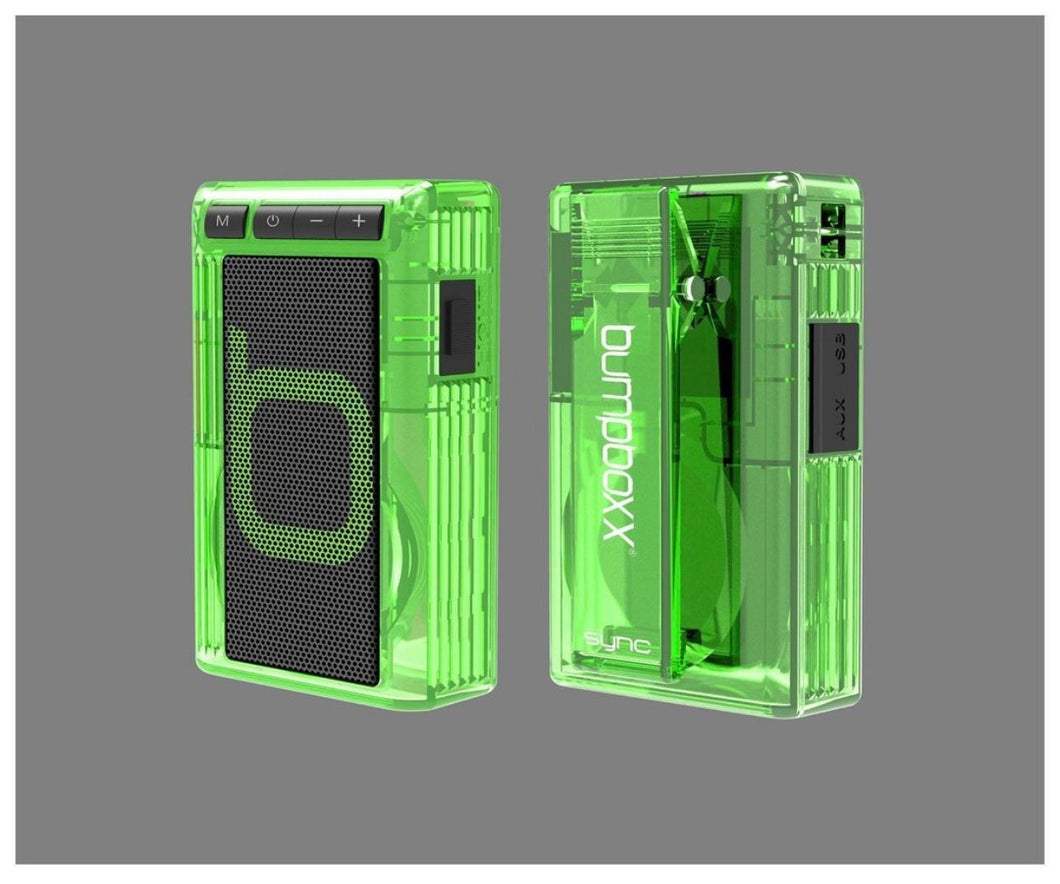 Retro Pager - Clear Green