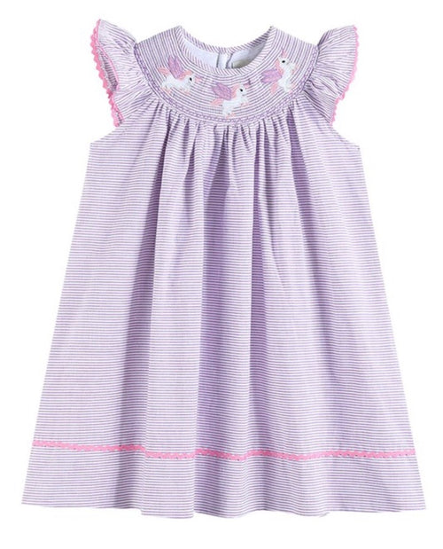 UNICORN SMOCK DRESS