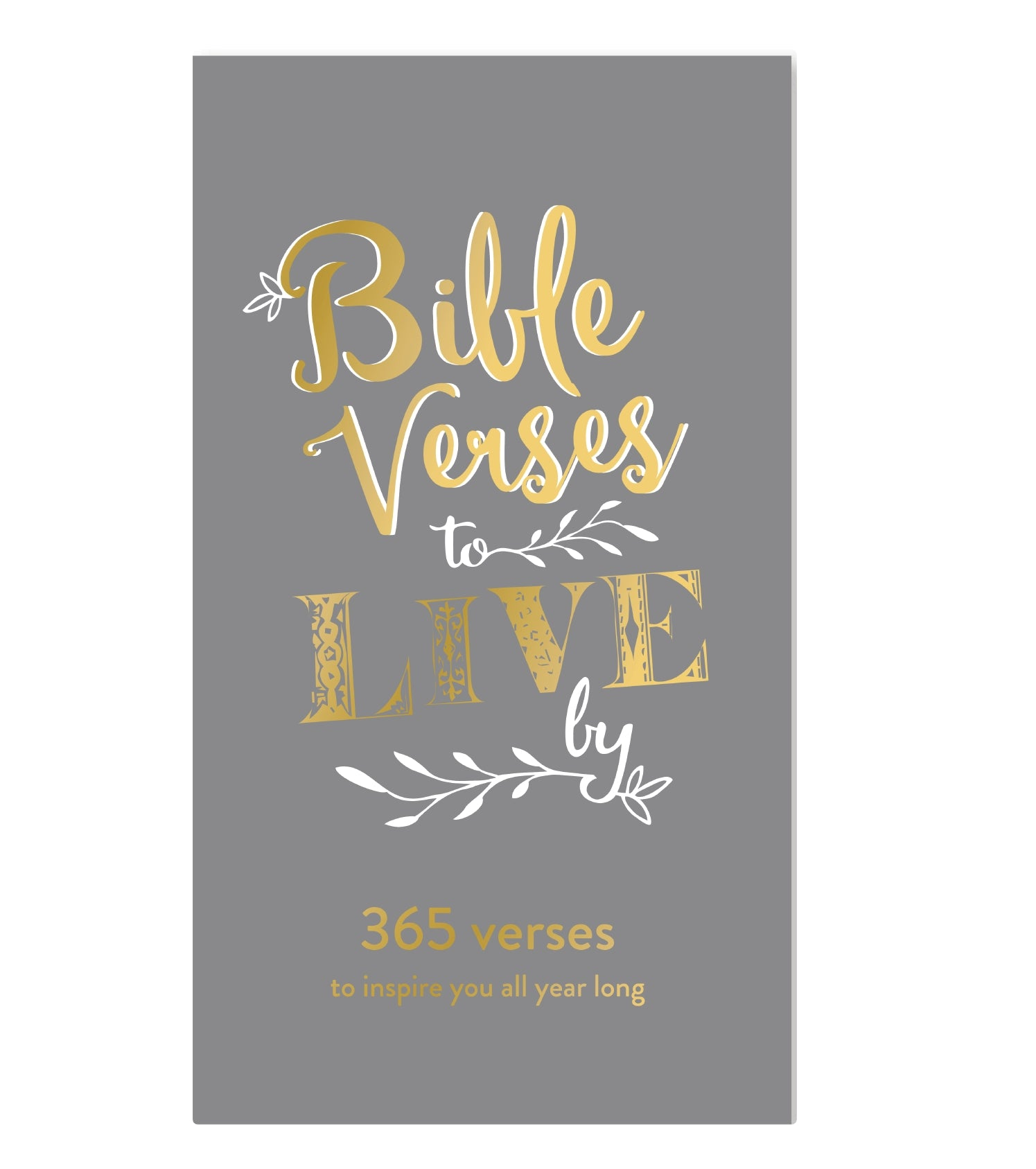 DAILY BIBLE VERSE PAD - GREY