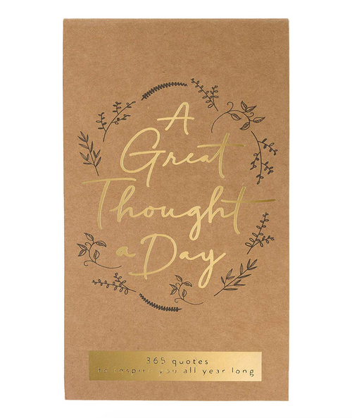 A GREAT THOUGHT A DAY PAD - KRAFT