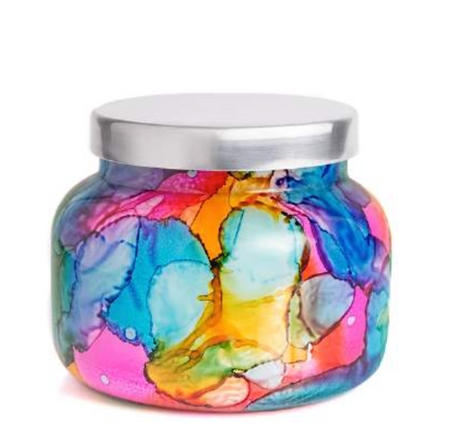 19 OZ RAINBOW JAR CANDLE - VOLCANO