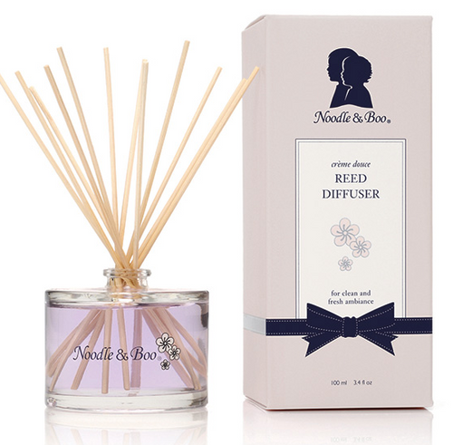 NOODLE AND BOO REED DIFFUSER - CREME DOUCE