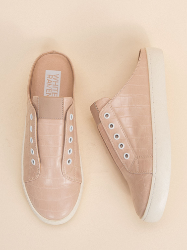 HAVEN SLIP ONS - ROSE
