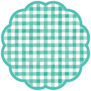 GINGHAM PAPER PLACEMAT PAD