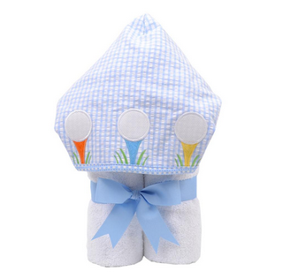 EVERYKID TOWEL - BLUE GOLF
