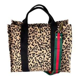 PS CANVAS BAG - LEOPARD