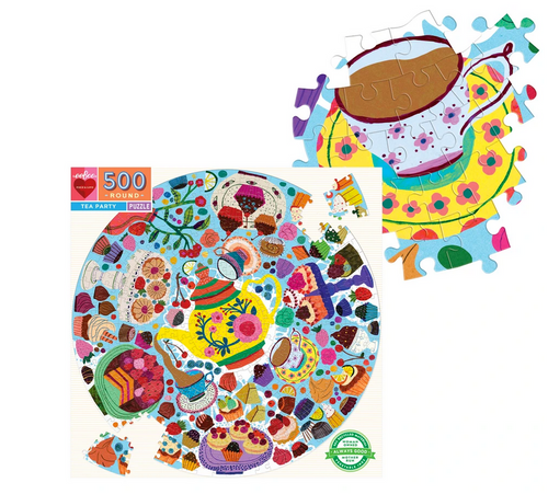 TEA PARTY 500 PIECE PUZZLE